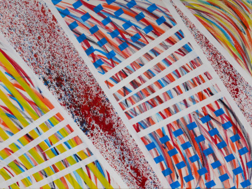 motion-based abstract painting